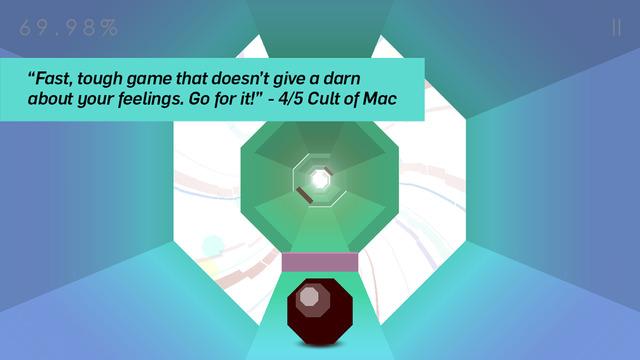 App Store: Octagon - A Minimal Arcade Game with Maximum Challenge (App gratis de la semana).