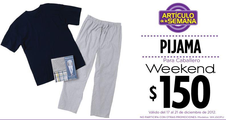 Artículo de la semana en Suburbia: pijama para hombre $150