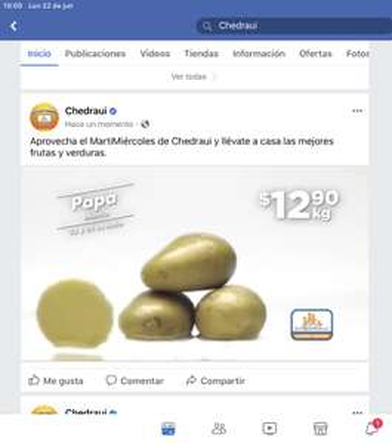 Chedraui: Martimiercoles