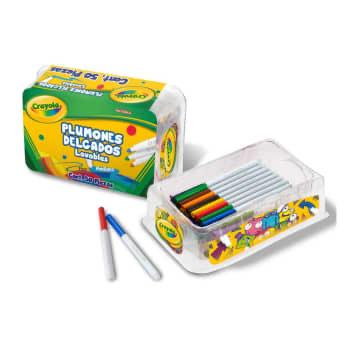 Sam's Club: Plumones Delgados Lavables Crayola