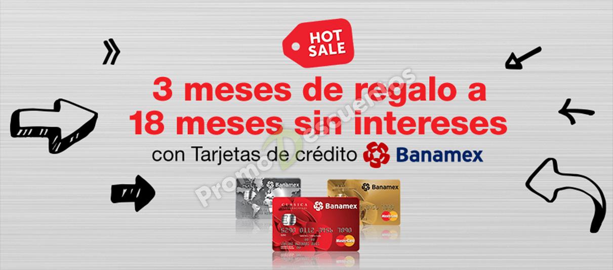 Hot Sale en Amazon México: 18 meses sin intereses + 3 meses de bonificación con Banamex