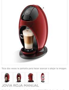Dolce Gusto: Cafetera manual Jovia