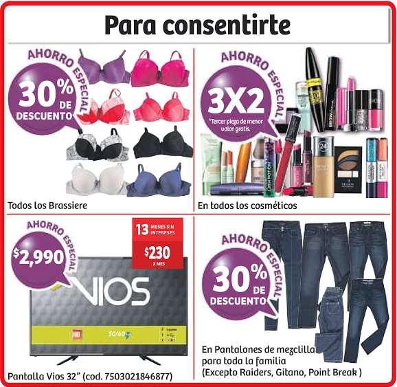 Soriana: 3x2 en cosméticos, 20% de descuento en tequilas, whisky y más