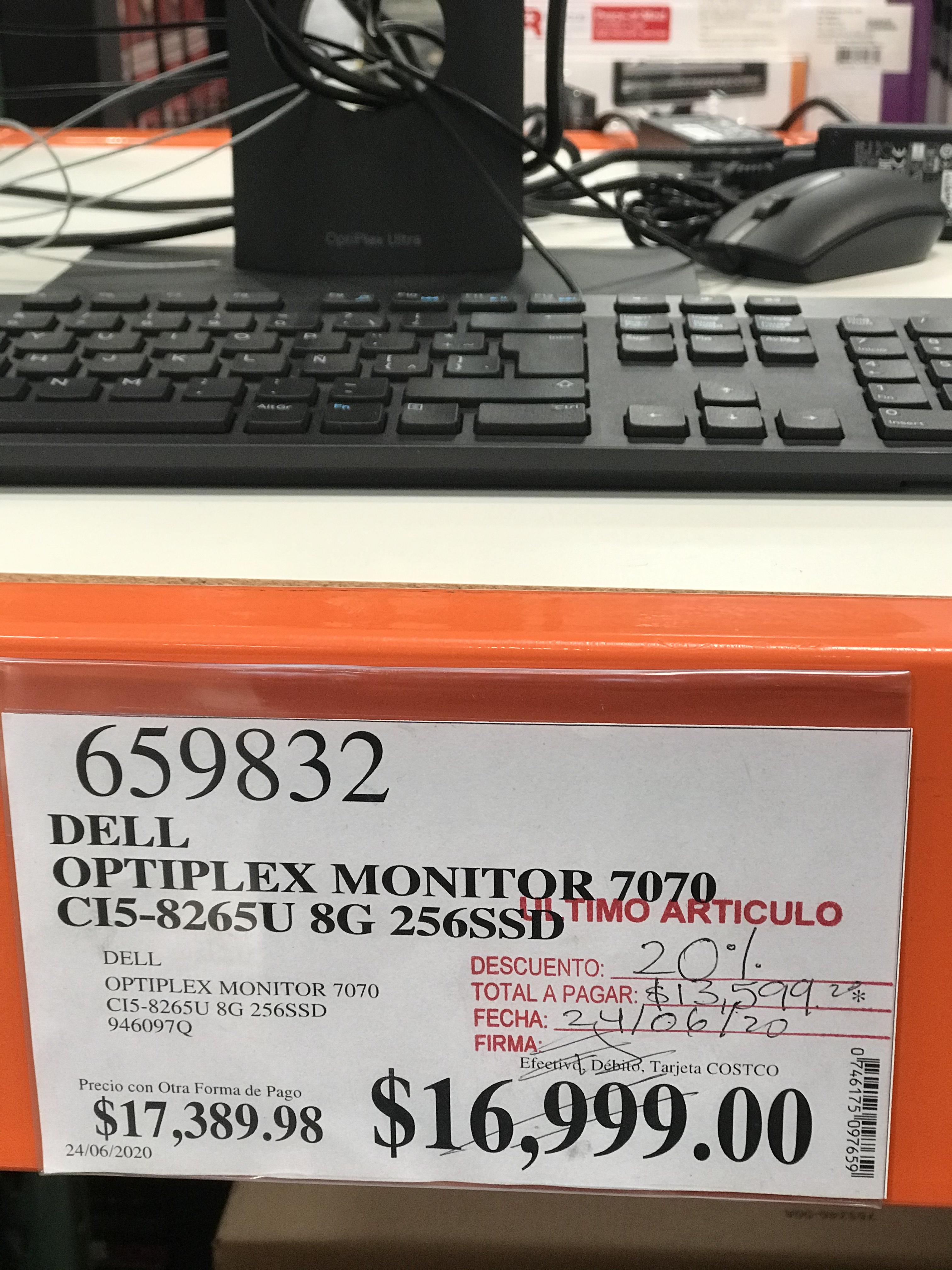 costco Dell optiplex 7070 monitor