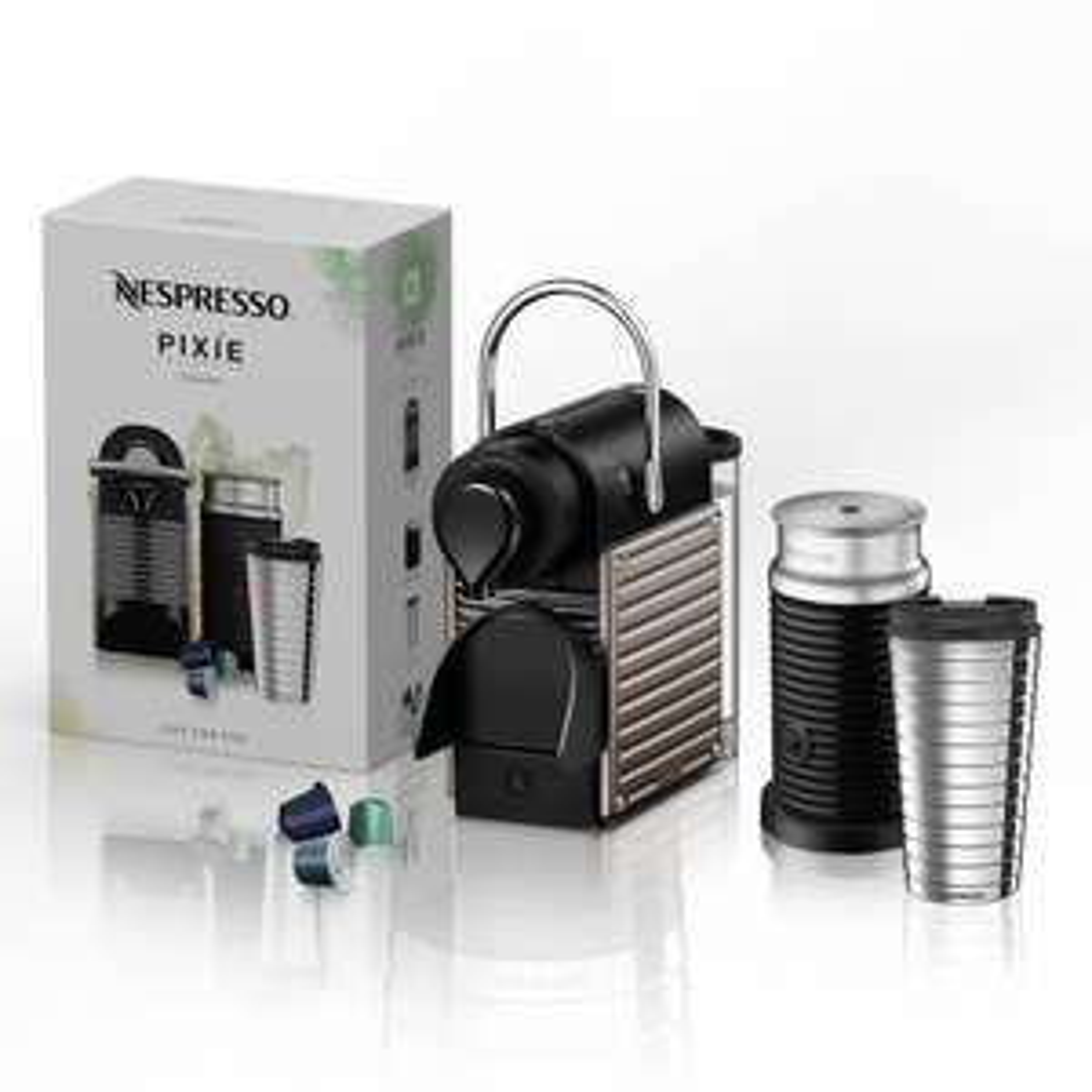 BestBuy: Nespresso - Cafetera Pixie On Pack - Negro