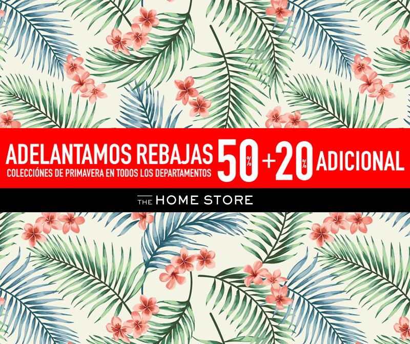 The Home Store: 50% + 20% Adicional en colecciones de Primavera Todos los Deptos.
