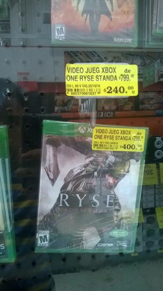 Soriana: Ryse Son of Rome a $240