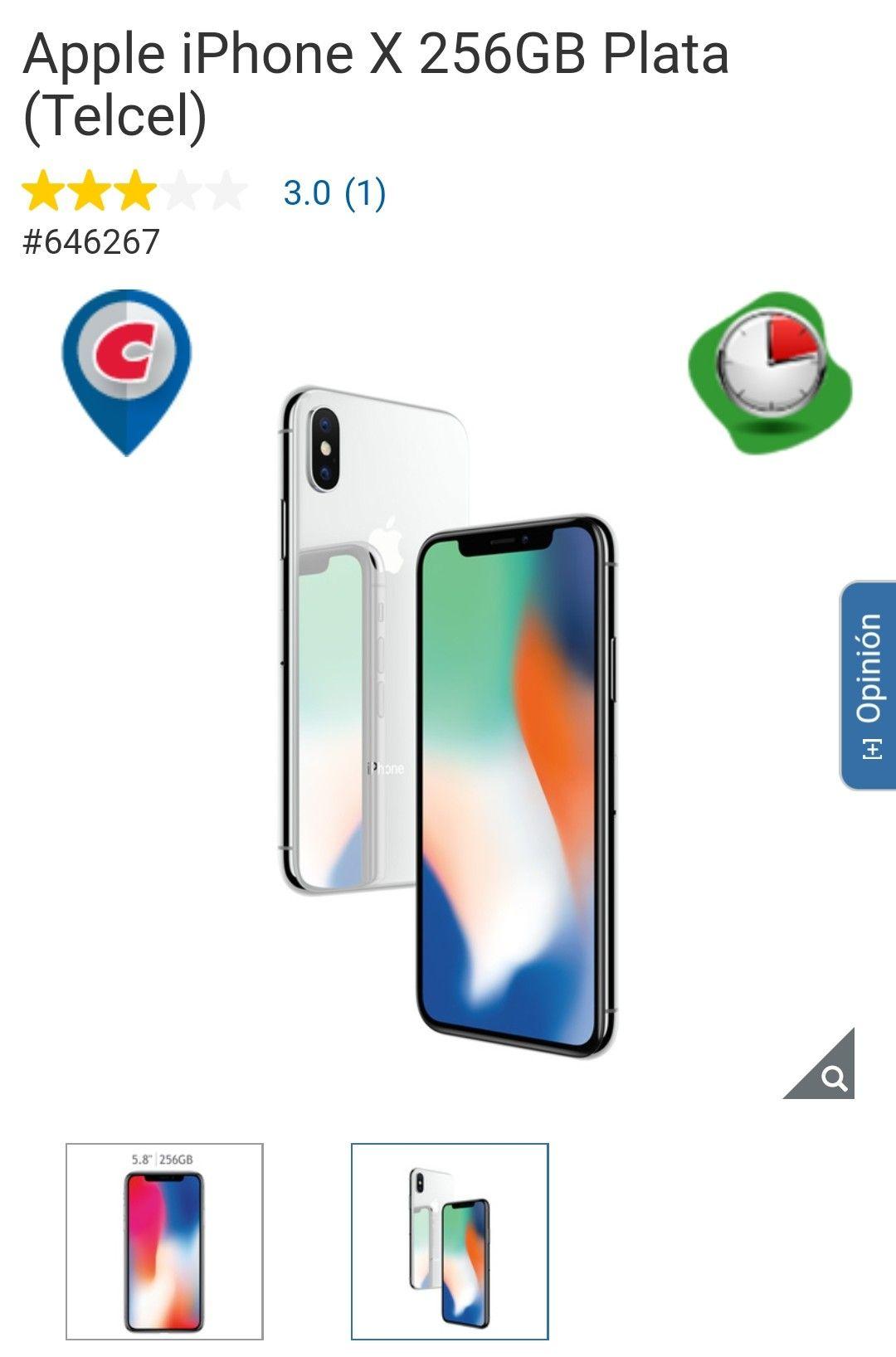 Costco: iPhone X 256 GB (Telcel)