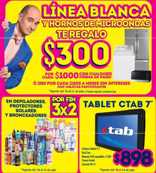 Ofertas de Julio Regalado en La Comer: descuento en línea blanca, microondas y más