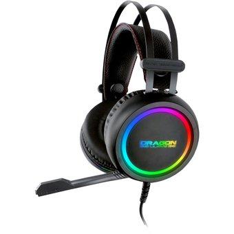 Linio Audífonos Gamer Dragon Xt con micrófono y Luces RGB Entrada 3.5mm