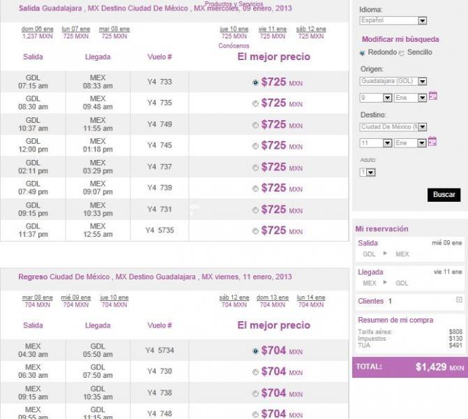 Volaris: vuelos desde $999 para diciembre y enero, $499 para Octubre