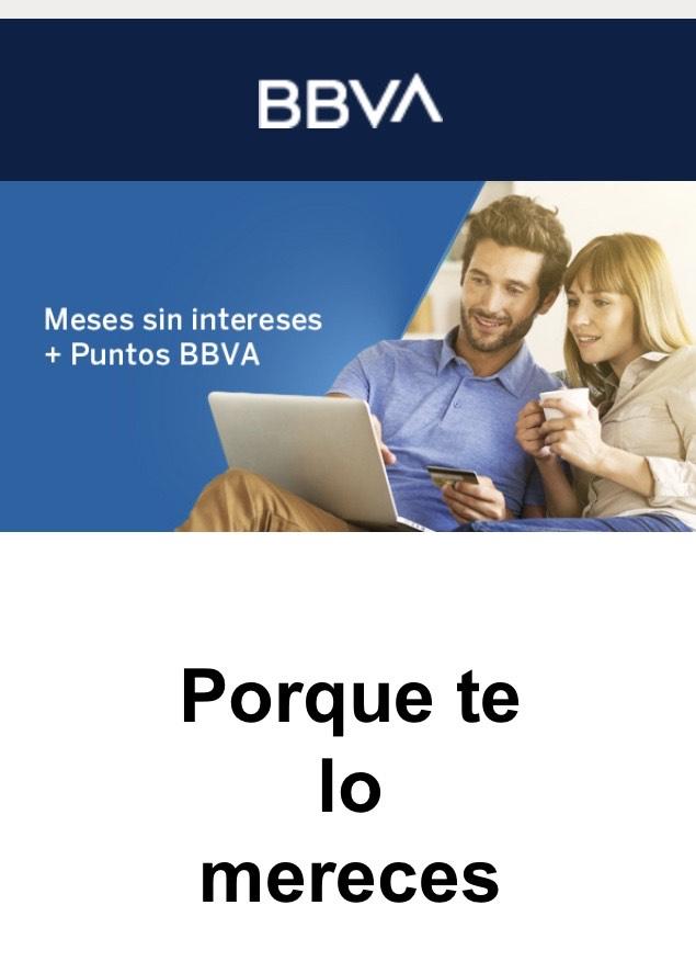 BBVA: MSI + Puntos