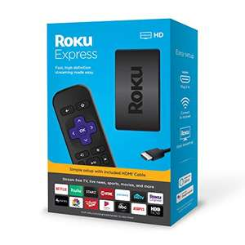 Amazon: Roku Express HD Streaming Media Player ( Importado ) Más vendido #1 en Casi
