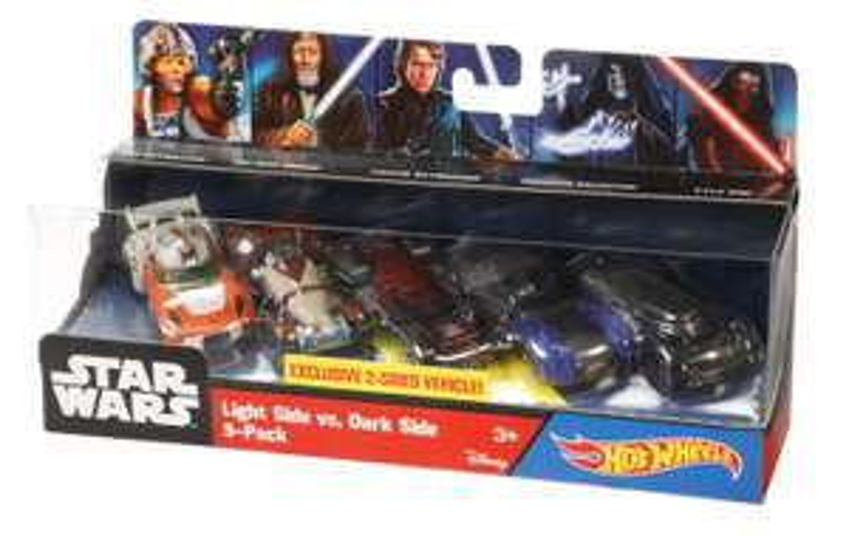 Amazon MX: Hot Wheels Star Wars Ep 7 Paquete De 5 Personajes