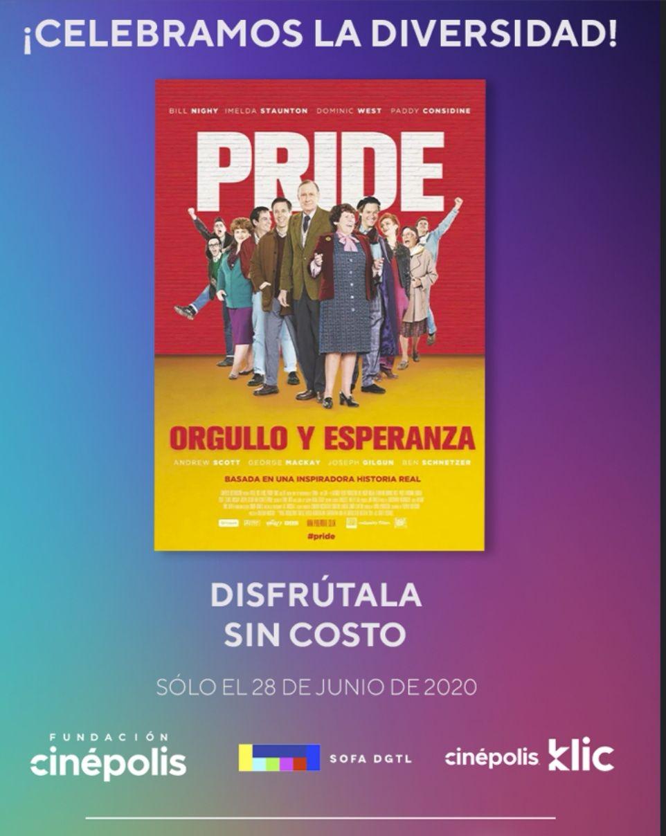 Orgullo y esperanza gratis en cinepolis klic