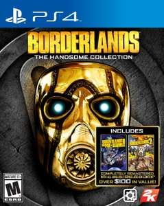 Amazon: Borderlands: The Handsome Collection para Playstation 4 a $373