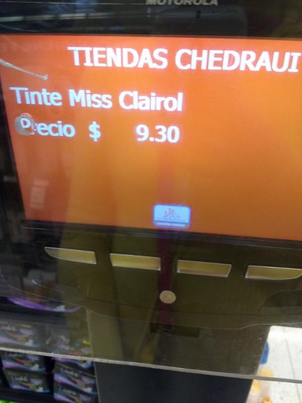 Chedraui Zaragoza: Tinte Miss Clairol 5 castaño claro $9.30