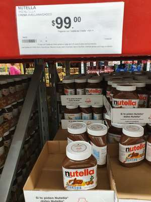 Sam's Club: Nutella 1kg $99