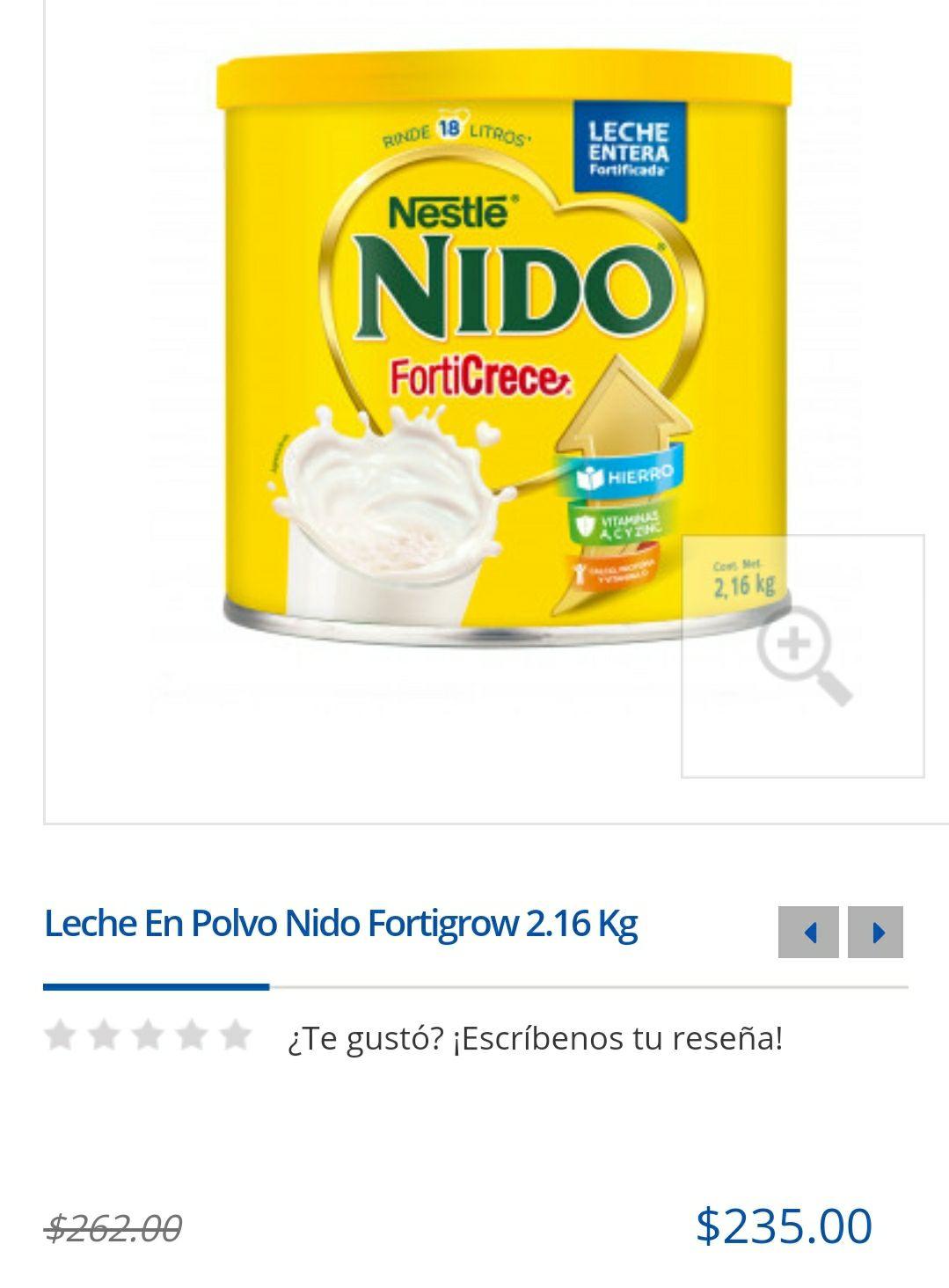 Farmacia del Ahrrro: Nido Fortigrow 2.16kg