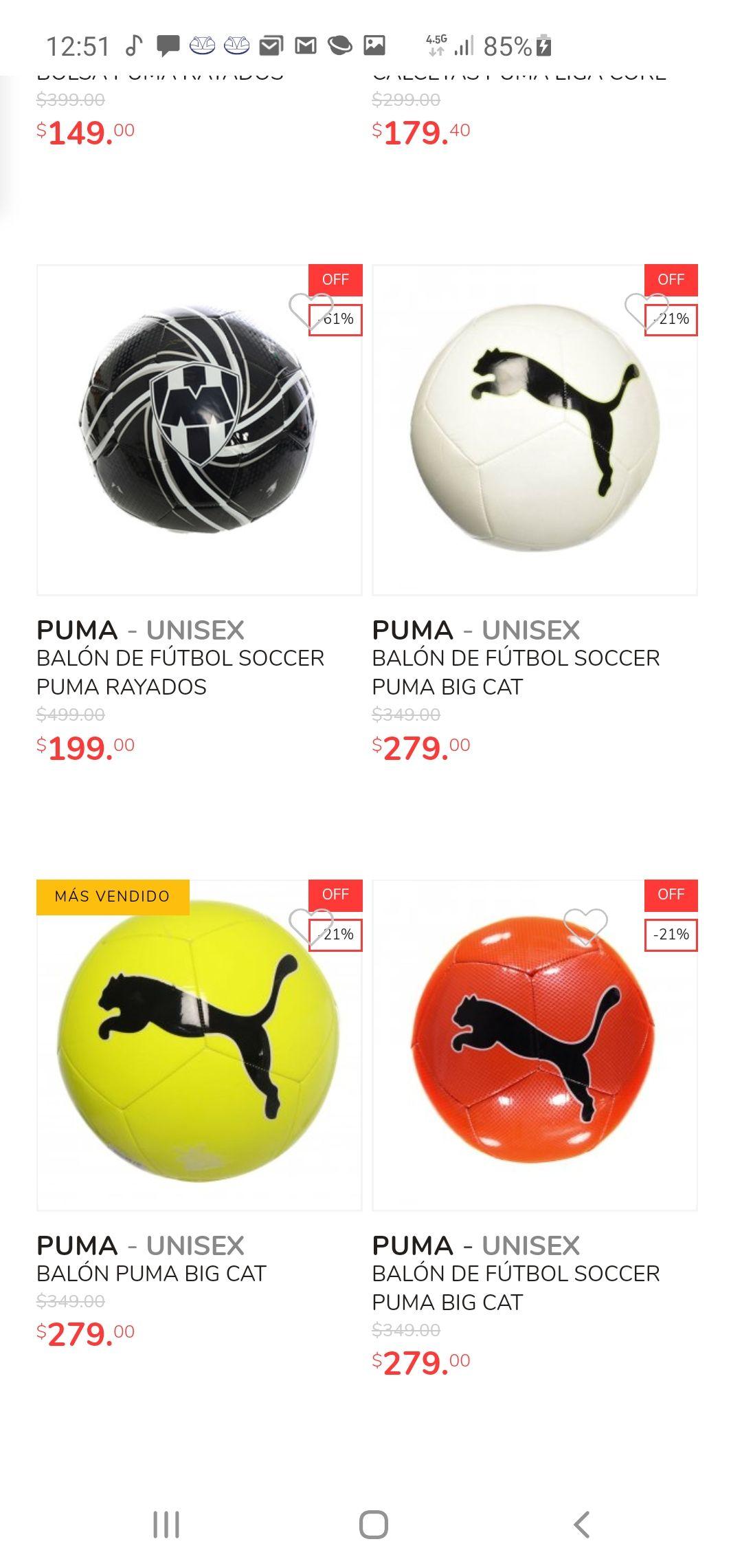 Innovasport: Balón de Fútbol Soccer Puma Big Cat