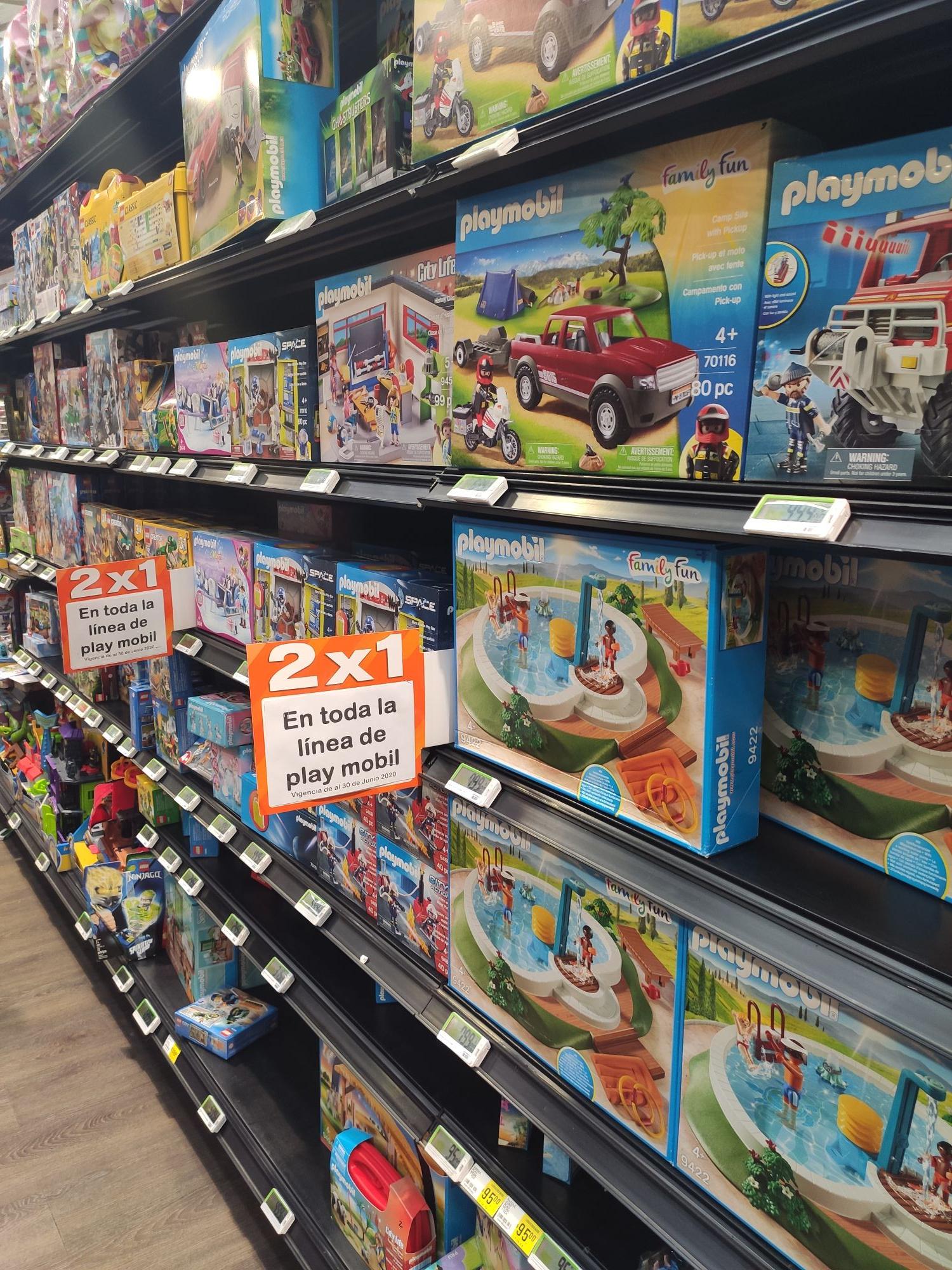 La Comer: Playmobil al 2x1