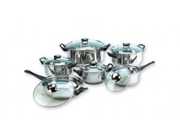 Mequedouno: Batería de Cocina de 12 Piezas Amazing Cookware