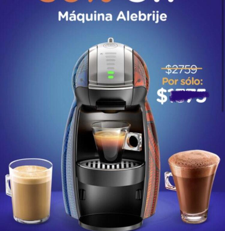 Dolce Gusto: Cafetera Alebrije