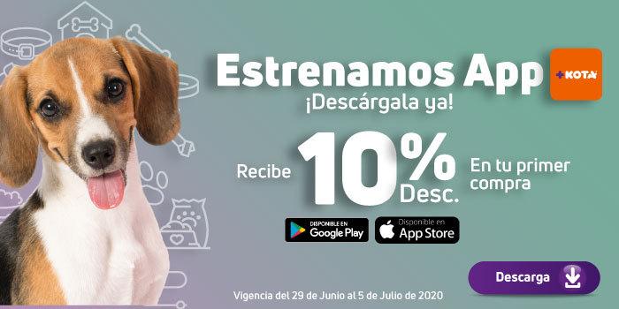 +KOTA estrena app y ofrece 10% en primera compra.