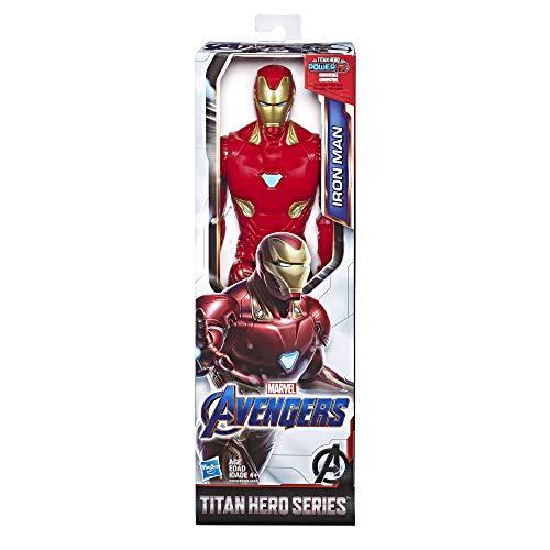 Amazon: Marvel Avengers endgame Titan hero series figura de superhéroe iron man
