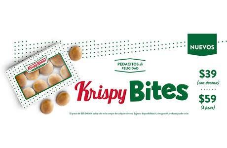 Krispy Kreme: 2X1 en bites