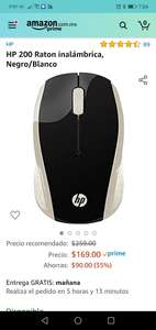 Amazon: Mouse inalambrico hp