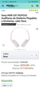 Amazon: Audífonos Sony