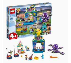 Amazon: LEGO Toy Story 4, Buzz y Woody: Locos por la Feria 10770