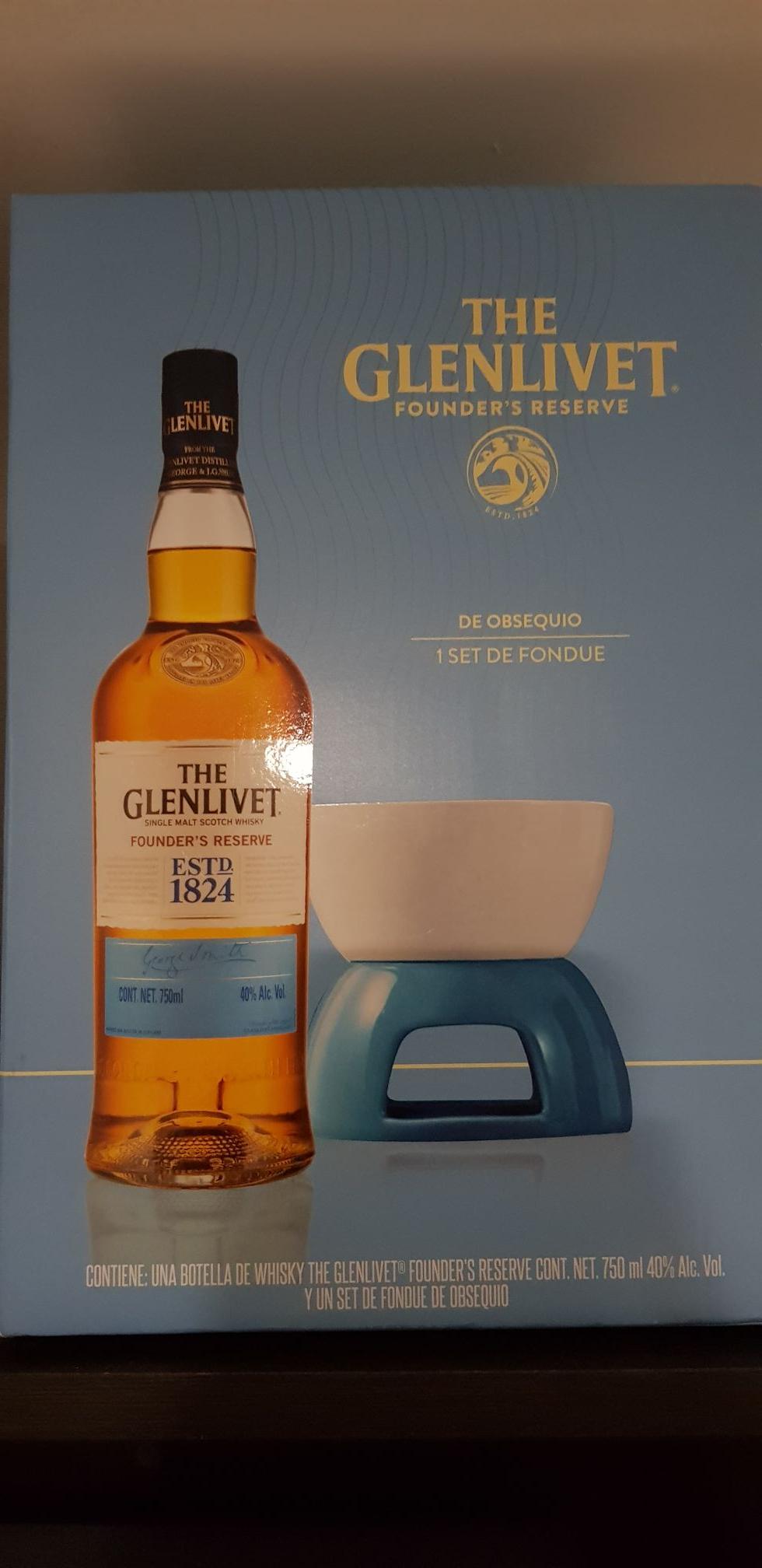 Sam's Club: Whisky The Glenlivet Founder's Reserve 750 ml