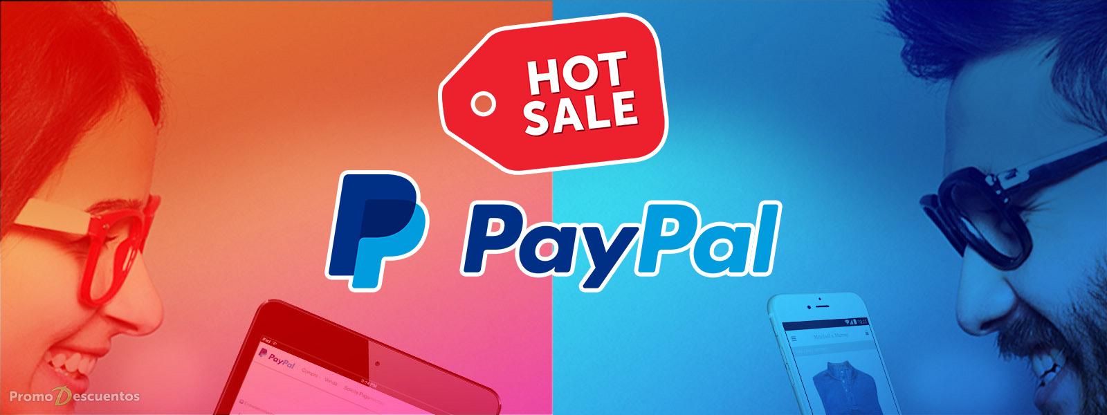 Promociones del Hot Sale 2016 pagando con Paypal