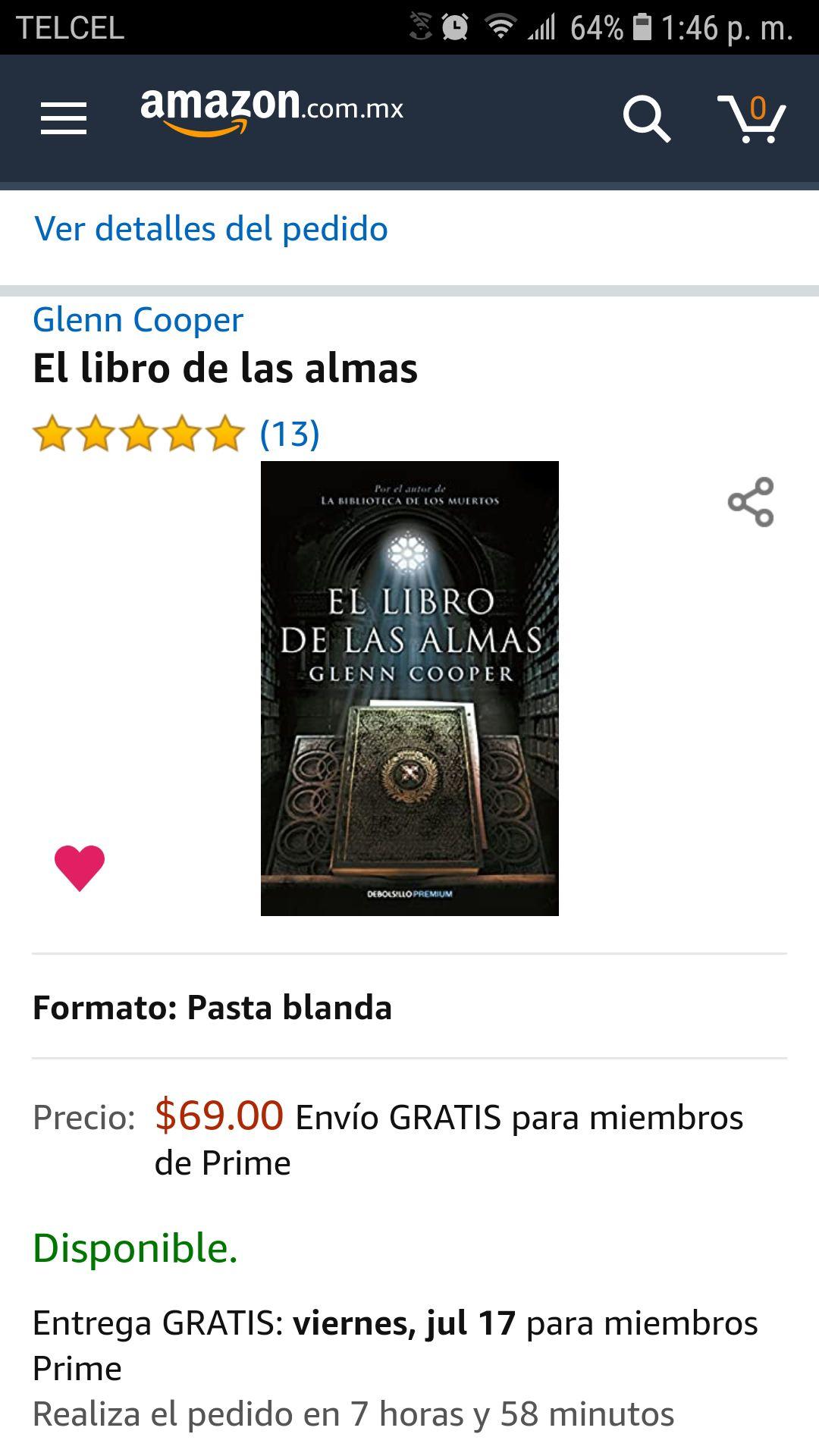 El libro de las almas amazon