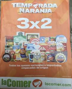 Temporada Naranja 2020 en La Comer: 4to Folleto de Ofertas