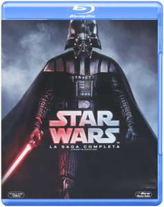 Hot Sale Amazon MX: Star Wars La Saga Completa en Blu-ray a $769