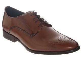 Suburbia - Zapatos contempo piel color cafe obscuro