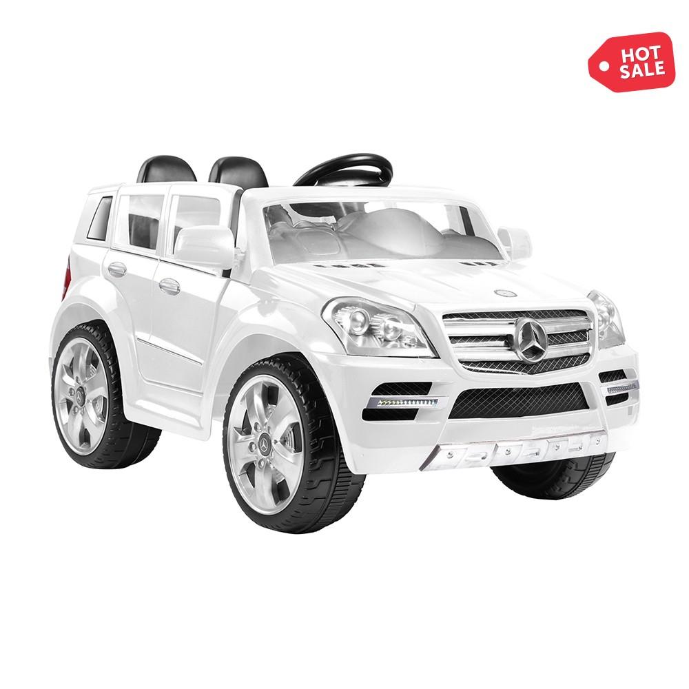 Promoción del Hot Sale en Walmart: Montable Eléctrico con Control Remoto Prinsel Mercedes Benz GL Class Blanco/Negro a $2,999