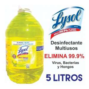 Amazon: Lysol Desinfectante Multiusos, 5 L