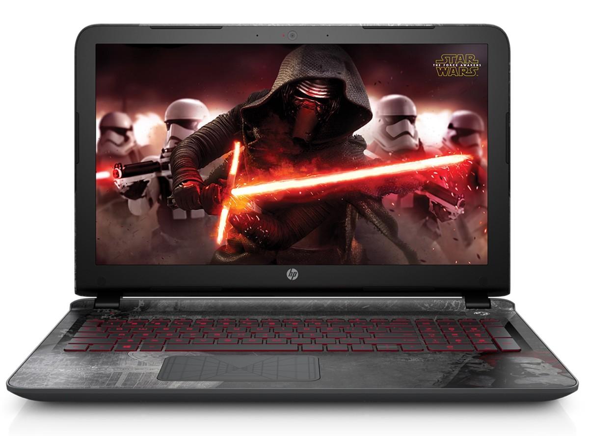 Promoción del Hot Sale en Linio: HP Star Wars Special Edition Notebook + Bocina Halcón Milenario $9,000 ($8,888 con Banamex)