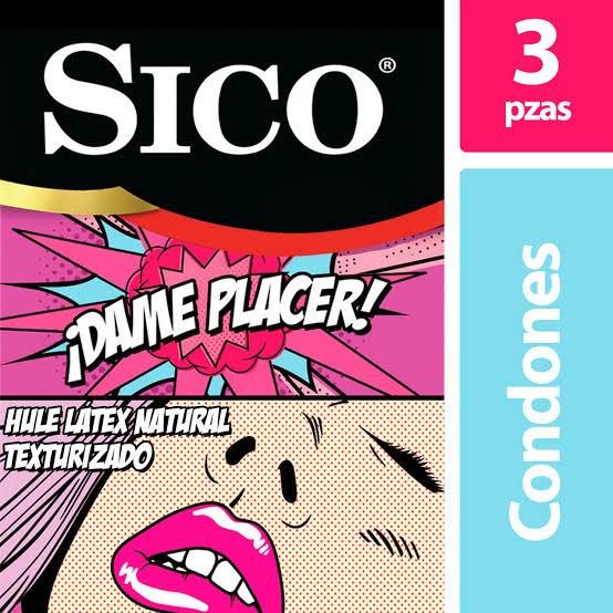 Amazon: Condones Sico Play Dame Placer 3 Piezas (planea y ahorra)