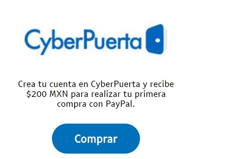Ofertas Hot Sale CyberPuerta: $200 de regalo al registrarse y pagar con PayPal