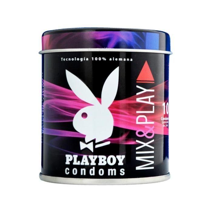Superama Dos paquetes de condones playboy (10 pza C/U)