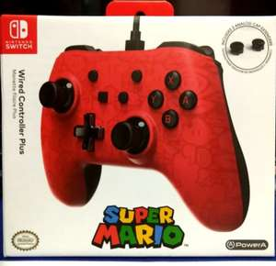 Amazon : PowerA Control alambrico 3 mts largo super Mario Odyssey nintendo switch