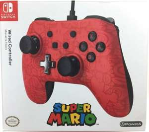 Amazon : PowerA Control alambrico 3 mts largo super Mario Odyssey nintendo switch
