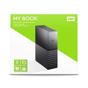 Amazon: WD MyBook 8TB - Disco duro externo