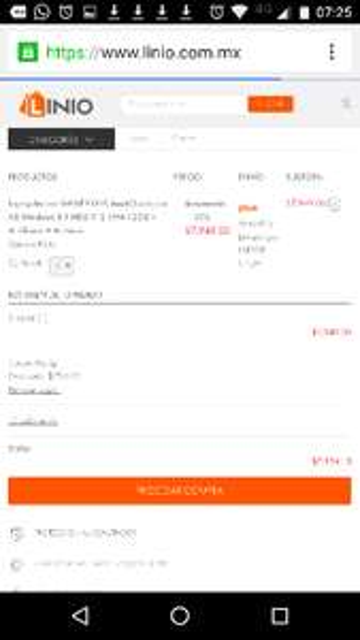 Promoción Hot Sale con Linio : Laptops excelente precio (10% adicional pagando con Paypal)