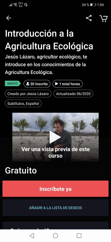 Udemy Curso de agricultura ecológica